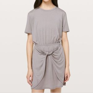 Lululemon unwind your mind twist front dress